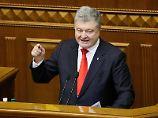 Hat das Kriegsrecht ausgerufen: Petro Poroschenko