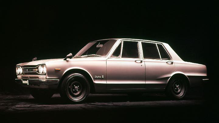 Nissan Skyline GT-R Type C10 ab 1968.