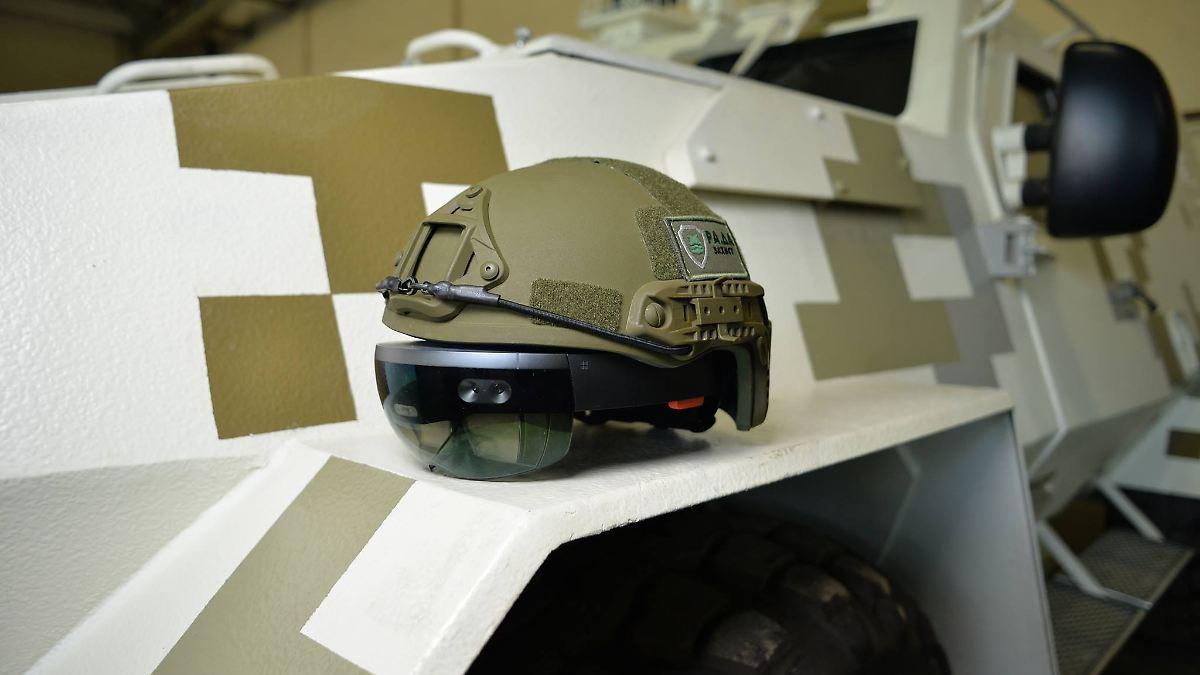 US-Militär setzt Microsofts Hololens auf