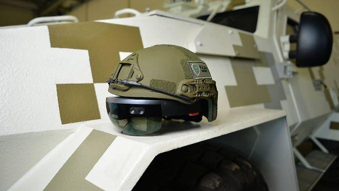 Die ukrainische Armee setzt die Hololens bereits in einem Panzer-System ein.