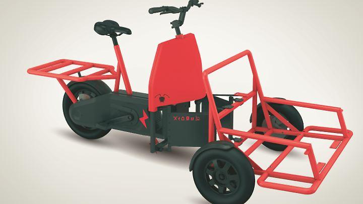 Für schweres Gepäck geschaffen: Cargobike A-N.T.
