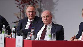 Kovac-Zuspruch und Investitionspläne: Hoeneß und Rummenigge geloben Besserung