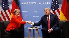 Begegnung in Buenos Aires: So lief Merkels Gespräch mit Trump