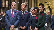 Friede, Freude, Tannenbaum: Die jungen Royalen feiern zusammen