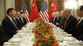 Annäherung im Handelsstreit: USA und China vereinbaren Waffenstillstand
