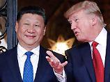 Der chinesische Präsident Xi (l.) und US-Präsident Trump wollen wider verhandeln.
