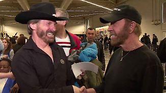 Promi-News des Tages: Kein Witz - das kostet ein Autogramm von Chuck Norris