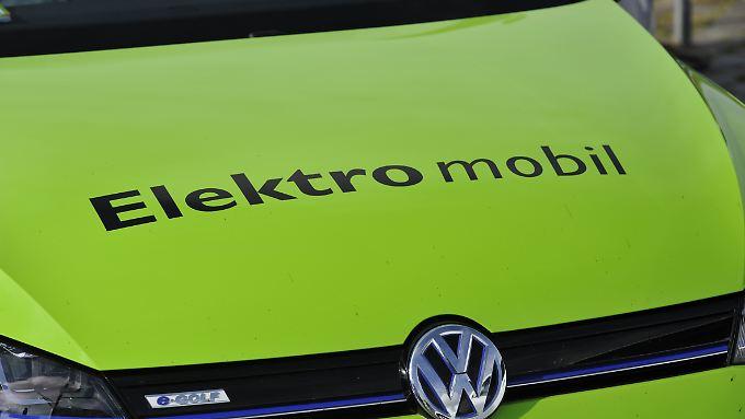 Volkswagen setzt künftig wie die gesamte Branche vornehmlich auf Elektroantriebe.