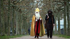 Nikolaus und sein Helfer, Knecht Ruprecht