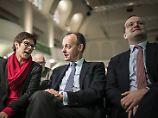 Entscheidung in Hamburg: Wenn Merkel recht behält, gewinnt Merz