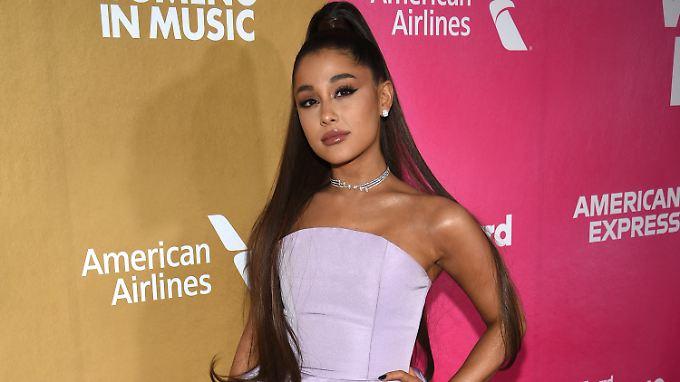 "Ariana Grande beim ""Billboard Women in Music""-Event in New York."