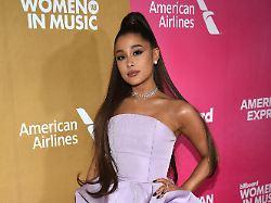 Neues Album angekündigt: Ariana Grande soll Textzeilen geklaut haben