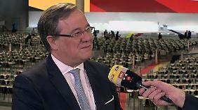 """Laschet zur Wahl um CDU-Vorsitz: """"Es hängt viel von den Reden der Kandidaten ab"""""""