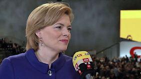 """CDU-Vize Klöckner beim Parteitag: """"Ich glaube, wir haben es nicht vergeigt"""""""
