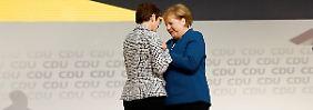 """Der letzte Sieg von Merkel: AKK zieht mit """"mehr Mut"""" an die Parteispitze"""