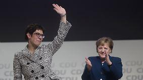 """""""Artverwandt mit Angela Merkel"""": So reagieren die anderen Parteien auf AKK-Wahl"""