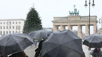Sturm und Regen zum zweiten Advent: Milde Nacht läutet ungemütlichen Sonntag ein