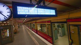 Kein Fernzug rollt mehr: Warnstreik legt Bahnverkehr in Deutschland lahm