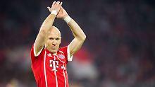 Raus mit Applaus: Arjen Robben will seinen Abschied beim FC Bayern mit einem Titel krönen.