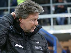 Nach zehn Spielen ohne Sieg: Bielefeld schmeißt Coach Saibene raus