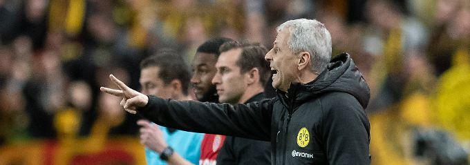 BVB gewinnt auch in Monaco: Dortmunds Favre gelingt Brachial-Rotation