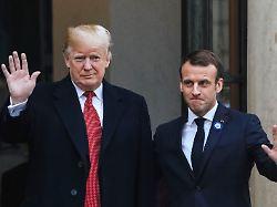 """Pariser Klimaabkommen ist schuld: Trump sieht ganz Frankreich """"niederbrennen"""""""