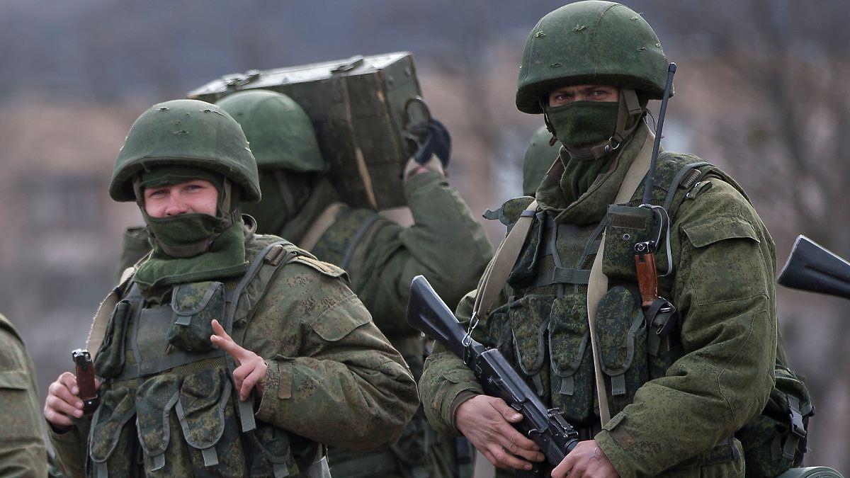 Neuer Grenzzaun trennt Krim von Ukraine