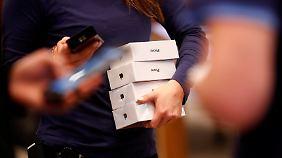 Zu wenig iPhones verkauft: Apple verfehlt Umsatzerwartungen