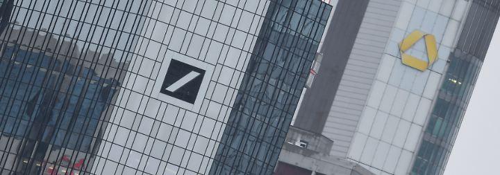 Fusionsgerüchte werden lauter: Finanzministerium sorgt sich um Börsenwert deutscher Banken