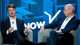 """Gemeinsamer Mobilitätsdienst: Daimler und BMW legen mit """"ShareNow"""" los"""