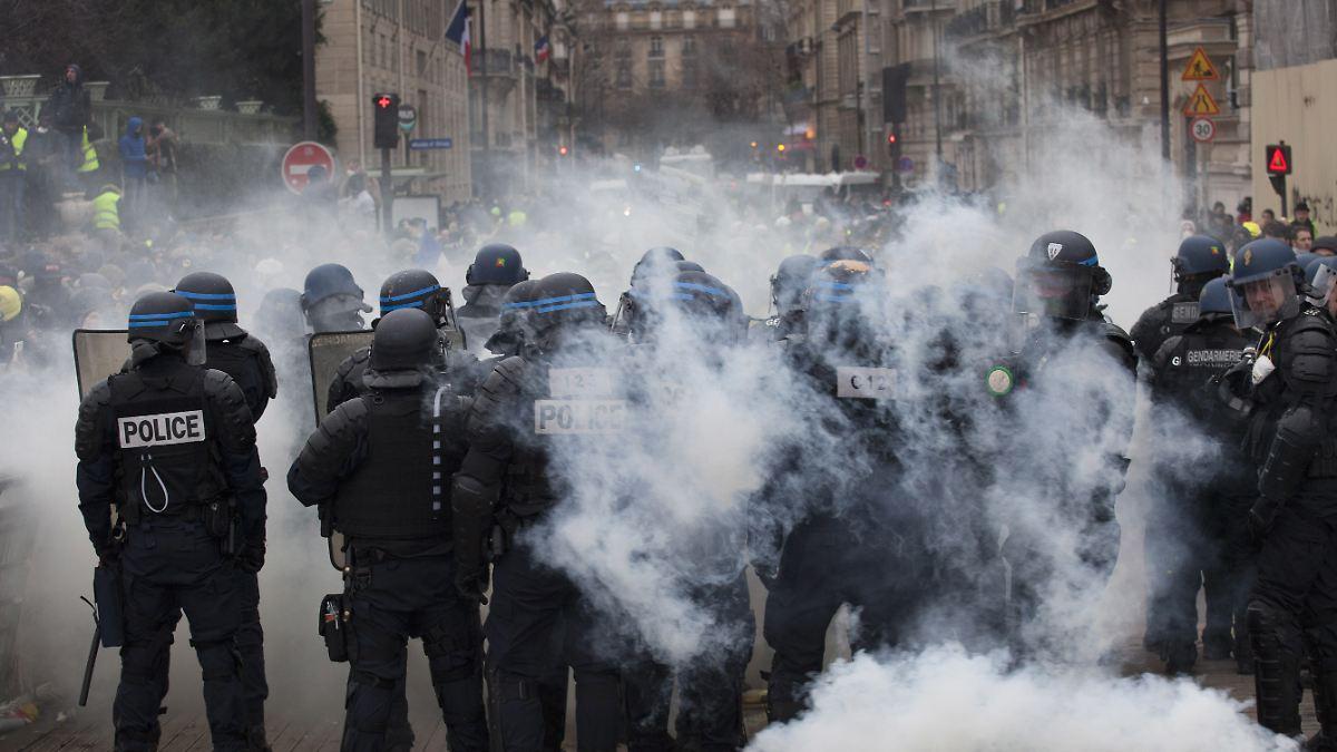 Polizeigewalt Frankreich