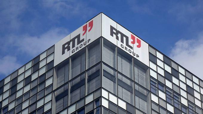 Die Zentrale der RTL Group in Luxemburg.