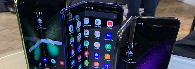 Nach Problemen mit Display: Samsung verschiebt Start von Falt-Handy