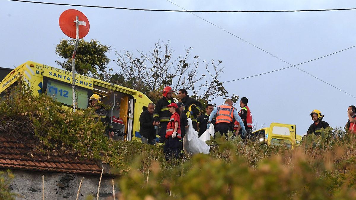 Überlebende berichten von Busunglück auf Madeira