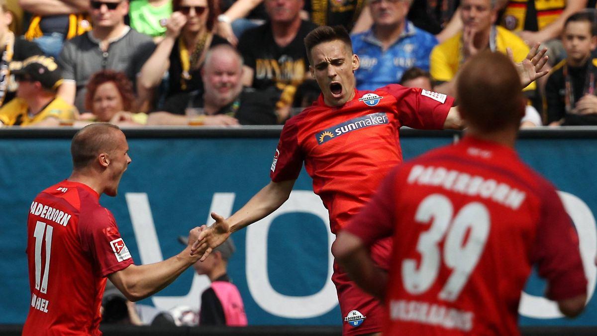 Paderborn zittert sich in die 1. Bundesliga