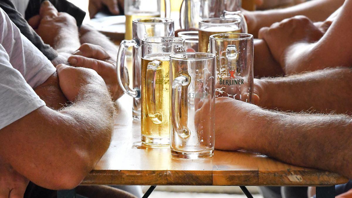 Wir trinken zu viel - was tun?