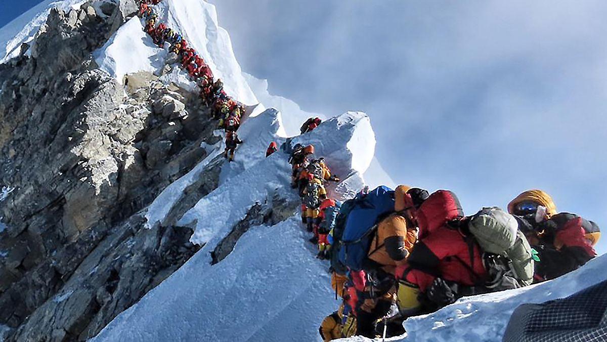 Weitere Bergsteiger am Mount Everest gestorben