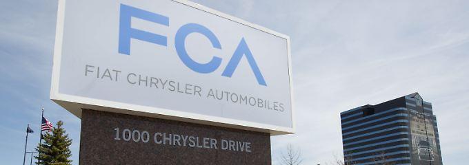 Angriff auf VW und Toyota: Fiat Chrysler und Renault prüfen Fusion