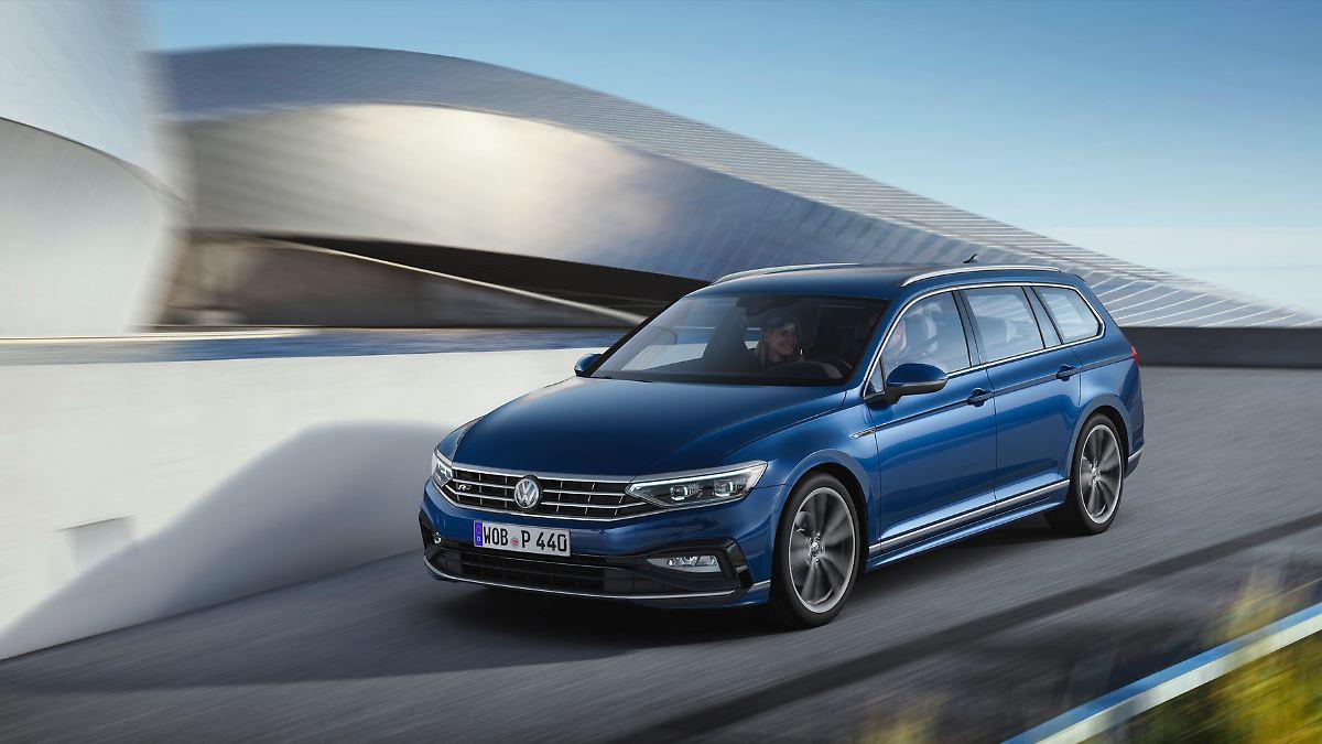 VW schickt überarbeiteten Passat ins Rennen