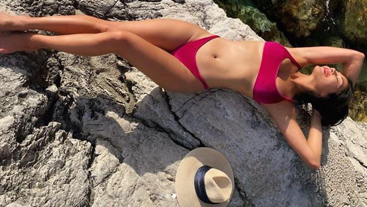 Nicole Scherzinger feiert Bikini-Freiheit
