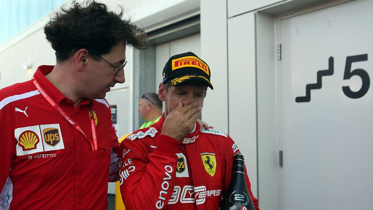 Binotto probte Vettels Rausschmiss dreimal