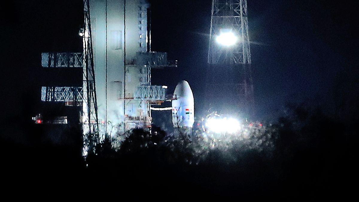 Indien startet zu erster Mondlandemission