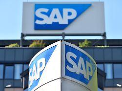 Aktienhandel kurz unterbrochen: SAP-Bilanz erwischt Anleger kalt