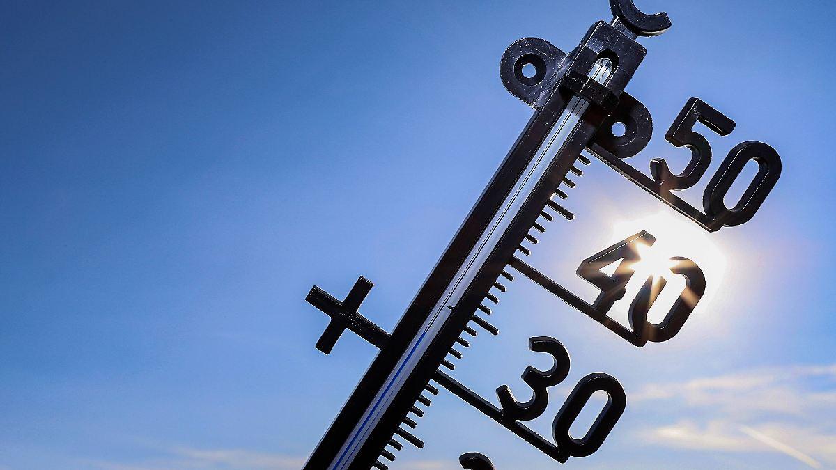 Sahara-Hitze hat Deutschland fest im Griff
