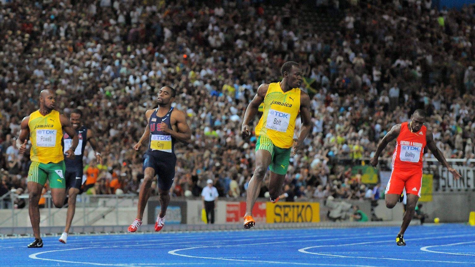 wie schnell kann der schnellste mensch der welt rennen
