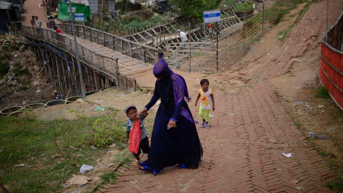 Rohingya-Flüchtlinge können nicht zurück