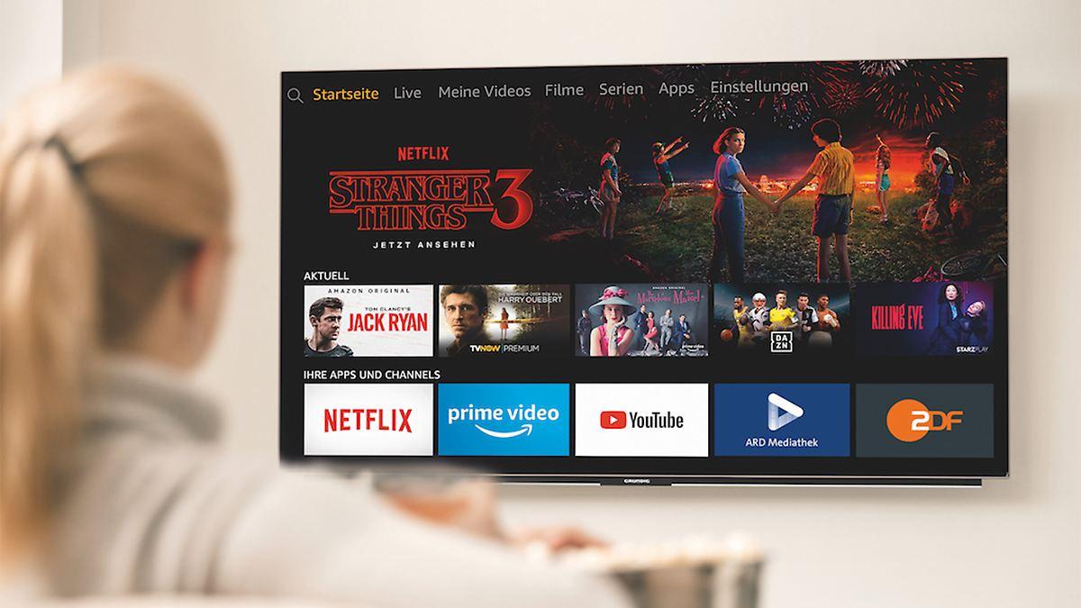 Amazon stellt erste Alexa-Fernseher vor