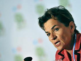Die Chefin des UN-Klimasekretariats, Christiana Figueres sprach von einer historischen Einigung.