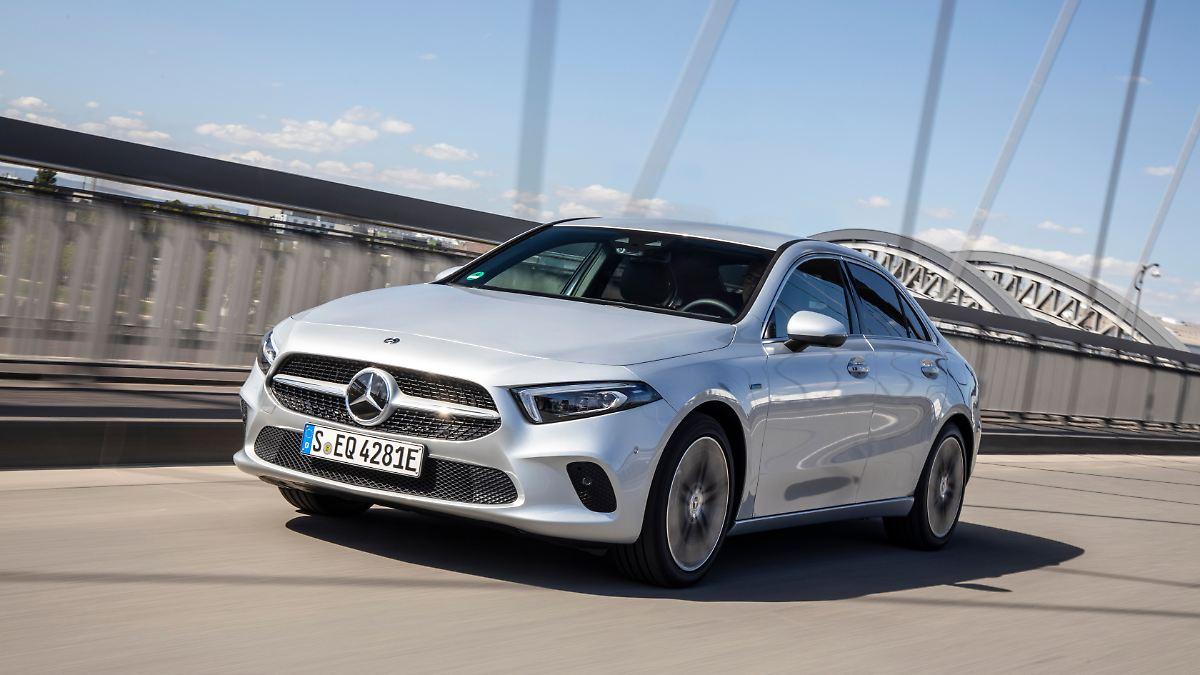 So stromern Mercedes' A-Klasse und GLE