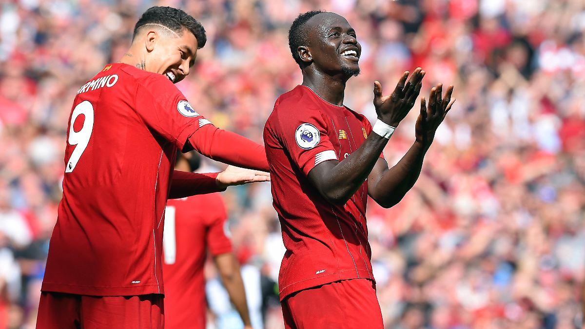 Mané und Firmino schießen Liverpool zum Sieg